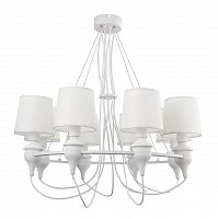 Люстра Arte Lamp Sergio White A3326LM-8WH